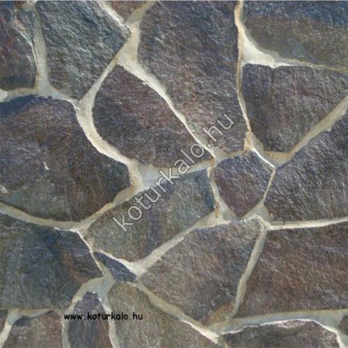 Andezit barna – szabálytalan burkolókő