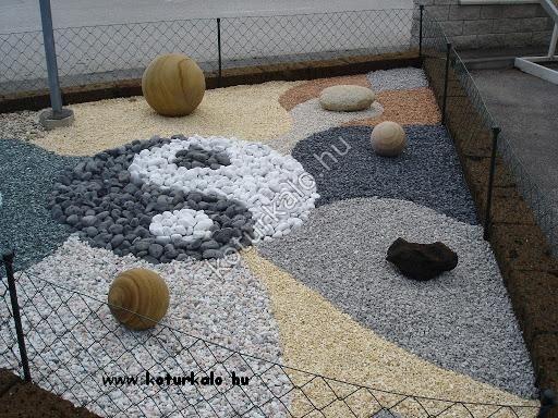 Jin-jang kerti minta fekete nero ebano görgetegből